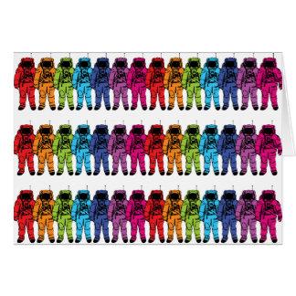 Astro Rainbow Greeting Card