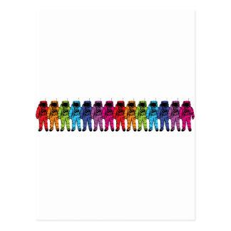 Astro Rainbow Postcard