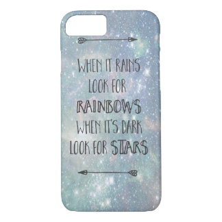 Astro Rainbows and Stars phone case