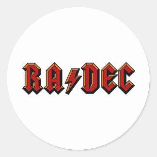 Astro Rocker Sticker