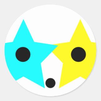 Astro Staro Classic Round Sticker