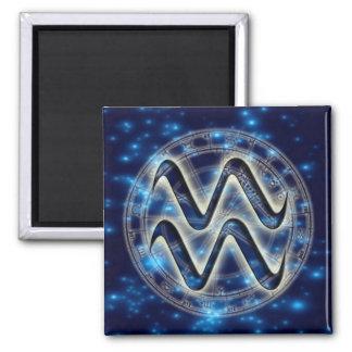 Astro Symbol Aquarius Magnet