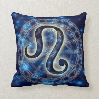 Astro Symbol Leo Throw Pillow