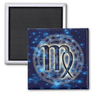 Astro Symbol Virgo Magnet