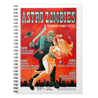 Astro-Zombies Spiral Notebook