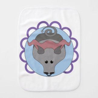 Astrobabies Taurus Burp Cloth