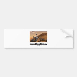 Astrobiology del equipo (paisaje de Marte Rover de Pegatina Para Auto