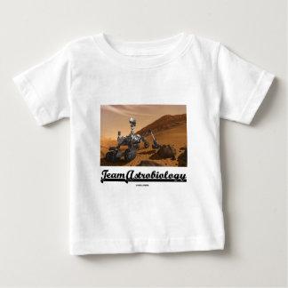 Astrobiology del equipo (paisaje de Marte Rover de Camiseta