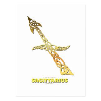 Astrocelt  series Sagittarius Postcard