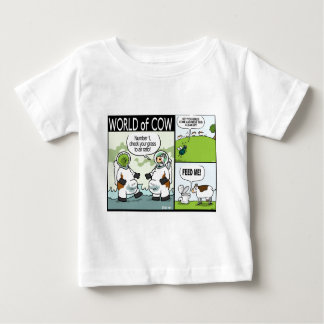 Astrocow, Toilet Food and Messing a Clean up Baby T-Shirt