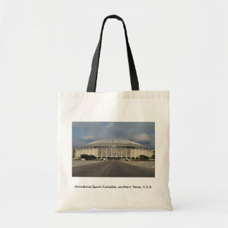 Astrodome Sports Complex, southern Texas, U.S.A. Canvas Bags
