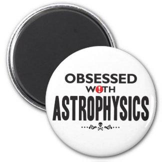Astrofísica obsesionada imán redondo 5 cm