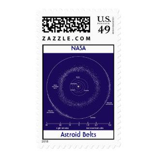 Astroid Belts, NASA Postage