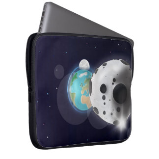 Astroid impact the Planet Earth! Laptop Sleeve