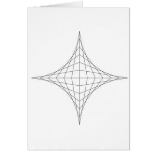 astroide tarjeta de felicitación