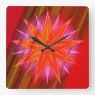 AstroJalal95 Reloj Cuadrado
