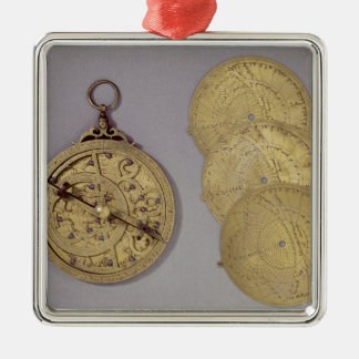Astrolabe, 1216 metal ornament
