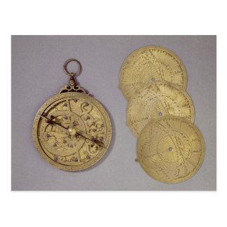 Astrolabe, 1216 postcard