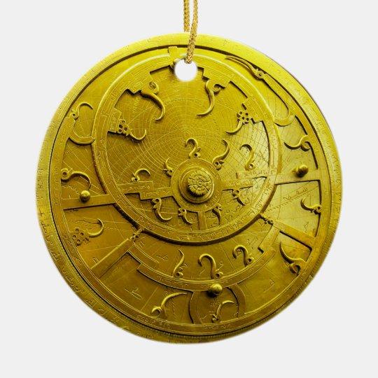 Astrolabe Ceramic Ornament