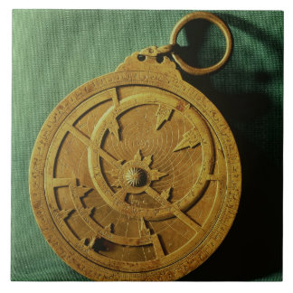 Astrolabe (copper) ceramic tile