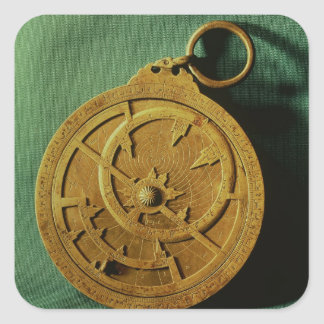 Astrolabe (copper) square sticker