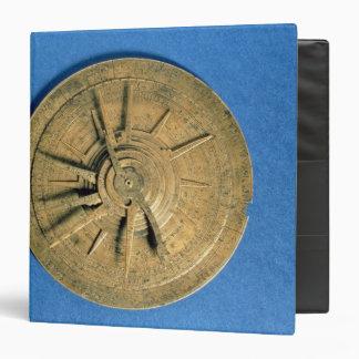 Astrolabe for calculating horoscopes, European Binder