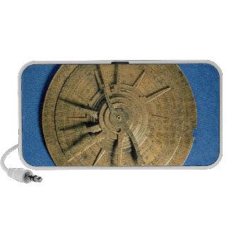Astrolabe for calculating horoscopes, European Speaker