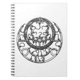 Astrolabe Spiral Notebook