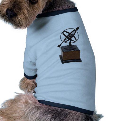AstrolabeLrg053009 Camiseta Con Mangas Para Perro
