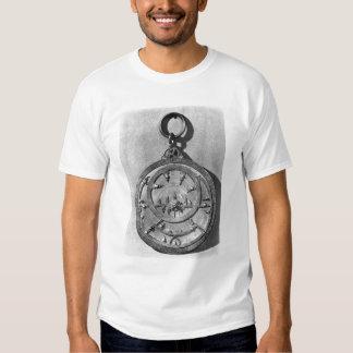 Astrolabio del Moorish, de Córdoba, 1054 Remera