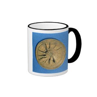 Astrolabio para los horóscopos calculadores, europ taza a dos colores
