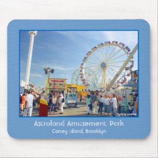 Astroland Amusement Park Mousepad