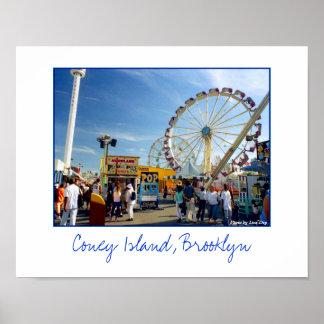 Astroland Amusement Park Poster