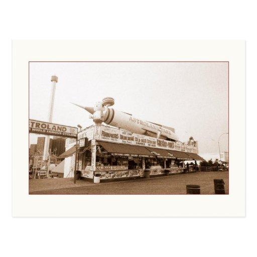 Astroland Food Stand (Coney Island, NY) postcard
