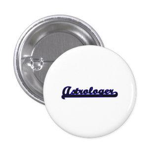 Astrologer Classic Job Design 1 Inch Round Button