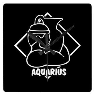 Astrología de la muestra del zodiaco del horóscopo reloj