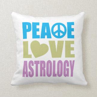 Astrología del amor de la paz almohadas