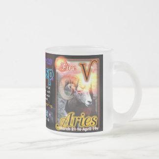 Astrología del cambio de signo del aries de Piscis Taza De Café