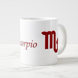 Astrología, escorpión del zodiaco la taza del taza grande