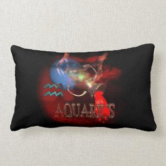 Astrología espeluznante del zodiaco del acuario po almohada