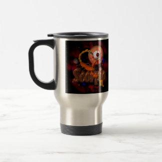 Astrología espeluznante del zodiaco del escorpión  tazas de café