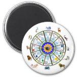 Astrología - muestras del ZODIACO Iman De Frigorífico