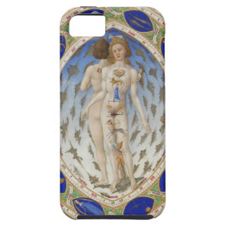 Astrological anatomical androgyny iPhone 5 case