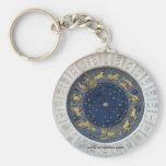 Astrological Clock,  Piazza San Marco, Venice Keychain
