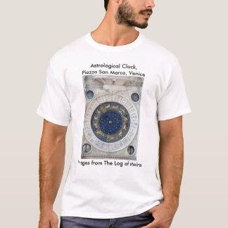 Astrological Clock,  Piazza San Marco, Venice T-Shirt