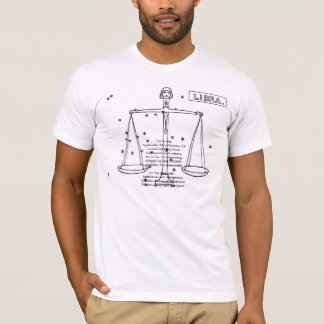 astrological-signs-1, The ScalesSeptember 24 to... T-Shirt