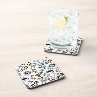 Astrological Signs of the Zodiac Drink Coaster