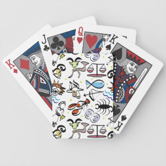 Astrological Signs of the Zodiac Bicycle Playing Cards