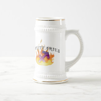 Astrological Signs of the Zodiac: Sagittarius! Beer Stein