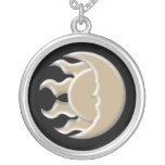 Astrological Sun and Moon Necklaces